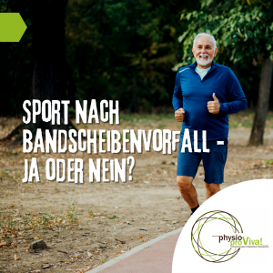 Sport nach Bandscheibenvorfall – ja oder nein?