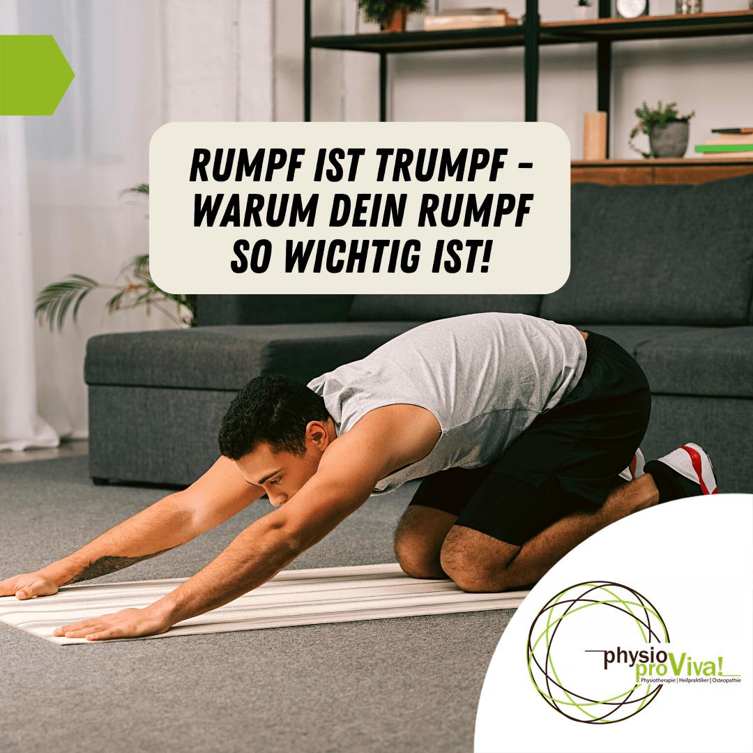 Read more about the article Rumpf ist Trumpf – warum Ihr Rumpf so wichtig ist!